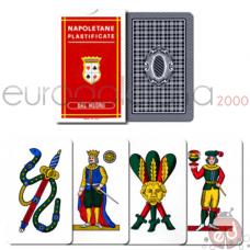 Carte Napoletane 82Rosse Plastificate x10