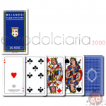 Carte Milanesi Blu da 40 x10