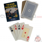 Carte Poker Texas Hold'em Blu
