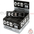 Cartine OCB Slim Nera +filtri x32