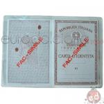 Porta Carta D'identità Cristal x 100