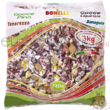 Bonelle Rettangolari Gelly Kg3 pz375