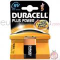 Duracell +Power 9 volt da1 x10