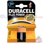Duracell +Power 9 volt da1 x10