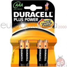 Duracell +Power Ministilo da 4 x10