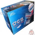 Filtri OCB 6mm Bags120 Slim + Cartine Blu x34