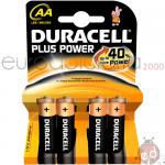 Duracell +Power Stilo da 4 x20
