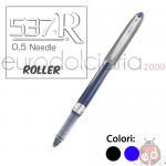 Penne Bic Roller 537R 0.5mm Nera x12