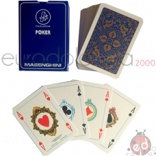 Carte da Poker Blu Masenghini NEW