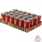 Coca Cola Lattine da 0,33l x24