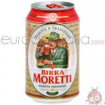 Birra Moretti Lattina 0.33l x24