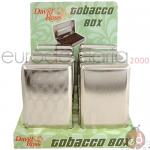 Portatabacco Box Metallo David R x8