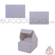 Biglietti e Buste Bianche f.to4 x200