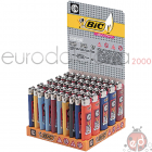 Accendini Bic J23 Midi Slim Decorato x50