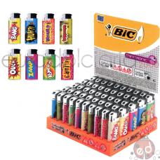 Accendini Bic J39 Mini Tronic Comics x50