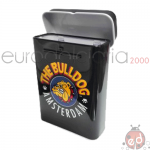 Porta Sigarette TheBulldog Metal Black