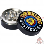 Grinder Metallo Nero 2 parti The Bulldog