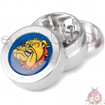 Grinder Silver 3 parti The Bulldog