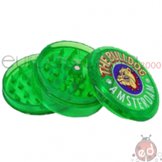 Grinder The BulldogPlastica Verde x2