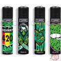 Accendini Clipper Large Girl Weed x48