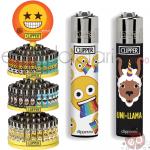 Accendini Clipper Large expo Gir.Emoji Mix L x144
