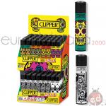 Accendini Clipper Large expo Scull Mix L x 96