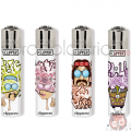Accendini Clipper Micro Hippie Graffitty K x48