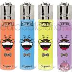 Accendini Clipper Micro Emoticons17 x48