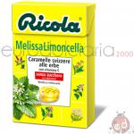 Caramelle Ricola MelissaLimoncella SZ 50gr x20