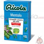 Caramelle Ricola Mentolo SZ 50gr x20