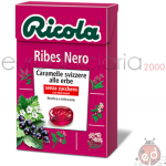 Caramelle Ricola Ribes Nero SZ 50gr x20