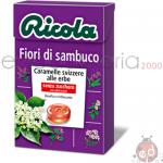Caramelle Ricola Fiori di Sambuco SZ 50gr x20