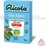 Caramelle Ricola Erbe Alpine SZ 50gr x20