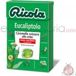Caramelle Ricola Eucaliptolo SZ 50gr x20