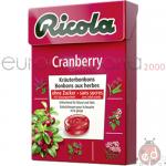 Caramelle Ricola Cramberry SZ50gr x10