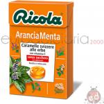 Caramelle Ricola Arancia Menta SZ 50gr x10