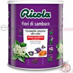 Caramelle Ricola Barattol Fiori di Sambuco Kg1