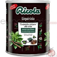 Caramelle Ricola Liquirizia 1kg 275pz