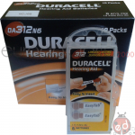 Duracell Acoustic Easy Tab 312N6 x10
