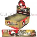 Cartine Enjoy Freedom KS Gold x50