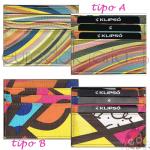 Portafogli Klipsò Multicolor x1
