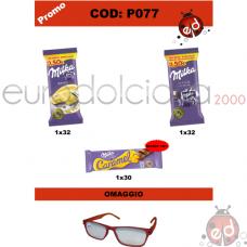 Promo Tav.Milka + zac Car + occhiali