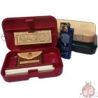 Kit Fumatore Cartina Bravo Filtri 5,5mm Pietra e Accendino